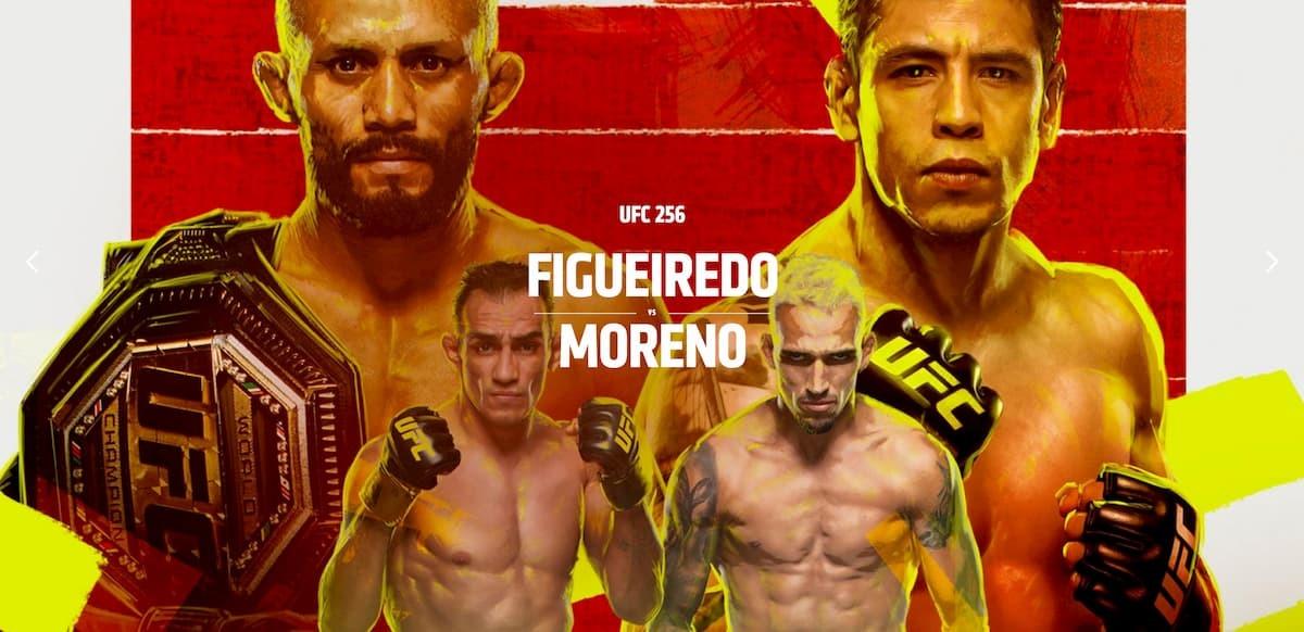 UFC 256 headliner