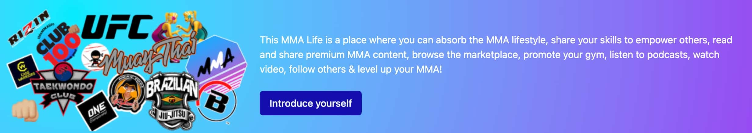 Join This MMA Life
