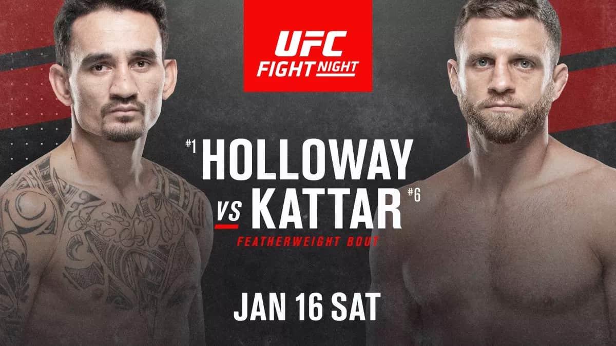 UFC Fight Night: Holloway vs. Kattar